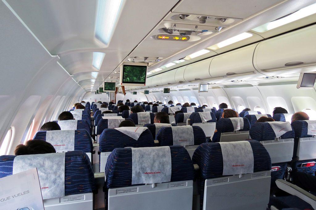A318 avianca interior